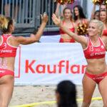2017.07.29 The World Games Wrocław 2017 Pilka reczna plazowa Polska - Australia LAKOMY Weronika NOWICKA Ewa