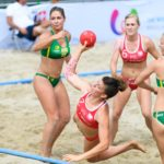 2017.07.29 The World Games Wrocław 2017 Pilka reczna plazowa Polska - Australia BARTKOWIAK Sylwia