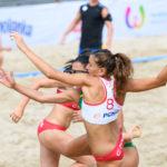2017.07.29 The World Games Wrocław 2017 Pilka reczna plazowa Polska - Australia ZAKOWSKA Lidia