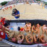2017.07.29 Wroclaw 10 Swiatowe Igrzyska Sportowe 2017 Igrzyska Sportow Nieolimpijskich  Pilka reczna plazowa Australia - Polska N/z  Foto Pawel Andrachiewicz / PressFocus  2017.07.29 Wroclaw World Games 2017  Beach Handball  Australia - Poland  Credit: Pawel Andrachiewicz / PressFocus