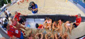Wspaniała oglądalność piłki ręcznej plażowej na The World Games Wrocław 2017!!