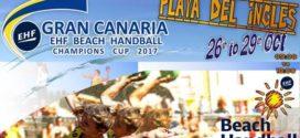 Startuje Puchar Mistrzów – EHF Beach Handball Champions' Cup Gran Canaria 2017!