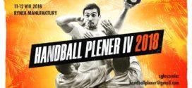 Handball Plener czyli w najbliższy weekend gramy na piasku w łódzkiej Manufakturze!