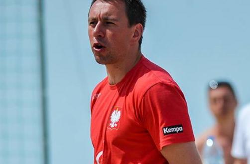 Jarosław Knopik trenerem kadry narodowej seniorów w piłce ręcznej plażowej.