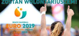 Ruszyła rekrutacja na wolontariat podczas Beach Handball Euro 2019!