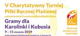 Pierwszy turniej plażowego sezonu 2020 zgłoszony. W Bielsku-Białej zagramy dla Karolinki i Kubusia!