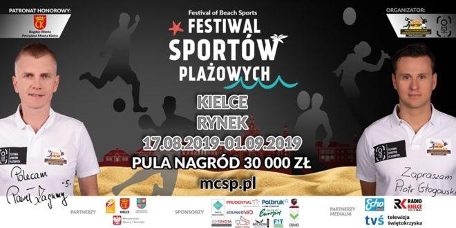 Już w ten weekend plażówka w Kielcach!
