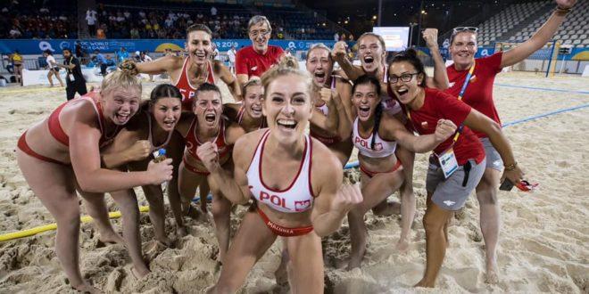 World Beach Games: Polki na 5. miejscu