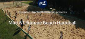 Mini piłka ręczna plażowa i ultimate beach handball