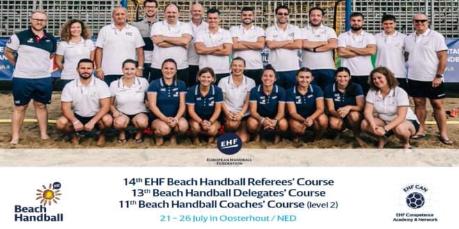 Kurs EHF dla sędziów, delegatów i trenerów piłki ręcznej plażowej – zapisy tylko do 24 lutego!