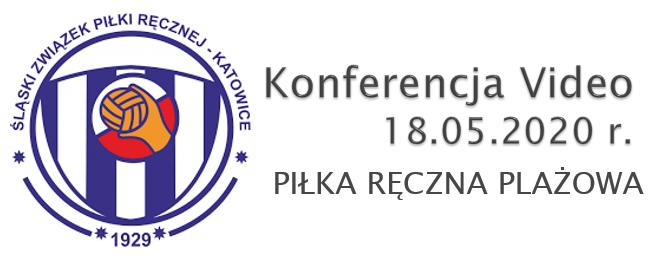 Video Konferencja o piłce ręcznej plażowej w Śl.ZPR