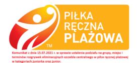 Komunikat w sprawie rozgrywek klubowych juniorów i juniorek